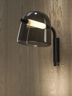 Wood Interior - Brokis lights - Black Mona. Design by Lucie Koldova.
