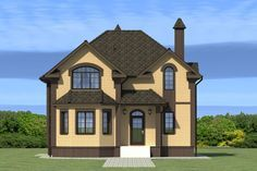 Luxury House Plans, Architect House, Building A House, Home Goods, Sweet Home, New Homes, Farmhouse, Layout, How To Plan