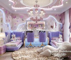 Cool Kids Bedrooms, Kids Bedroom Designs, Bedroom Decor For Teen Girls, Cute Bedroom Ideas, Room Design Bedroom, Cute Room Decor, Kids Room Design, Princess Bedrooms, Princess Room
