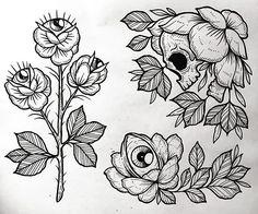 The one in the top corner! Tattoo P, Body Art Tattoos, Tattoo Sketches, Tattoo Drawings, Blackwork, Nouveau Tattoo, Tattoo Flash Art, Beautiful Tattoos, Traditional Tattoo