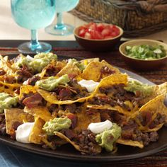 Bacon Nachos ~ Quick and easy recipe using trendy bacon!