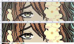Схемы от Валерии Воропай – 286 фотографий Anime Pixel Art, Art Anime, Pixel Art Grid, Pixel Art Templates, Minecraft Pixel Art, Bracelet Patterns, Perler Beads, Bad Boys, Cross Stitch Patterns