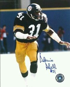 6f1986dce78 Image detail for -Donnie Shell Autographed Pittsburgh Steelers Photo