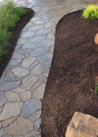 Go and visit our web-site for lots more information on this dazzling concrete walkway molds Backyard Walkway, Outdoor Walkway, Stone Walkway, Front Yard Landscaping, Paver Walkway, Landscaping Ideas, Stamped Concrete Walkway, Concrete Patio, Porches