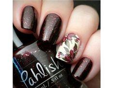 Paznokcie w kolorze bordo - eleganckie wzorki na jesień - Strona 10