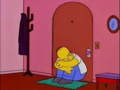 Image discovered by JcB. Find images and videos about sad, crying and the simpsons on We Heart It - the app to get lost in what you love. Simpsons Meme, Simpsons Art, Cartoon Quotes, Cartoon Icons, Sad Wallpaper, Cartoon Wallpaper, Homer Simpson Meme, Arte Do Hip Hop, Cartoon Memes