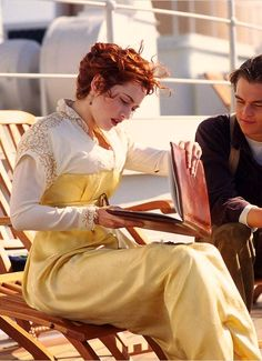 PLEASE LIKE THIS PAGE https://www.facebook.com/cloeclo12 Kate Winslet as Rose DeWitt Bukater in Titanic (1997).