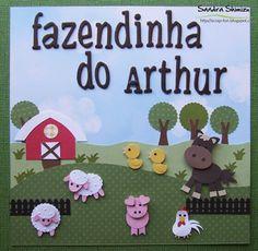 LO 20x20cm e mimos para comemorar o primeiro aniversário do pequeno Arthur.         Bom final de semana!   bjm