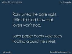 Nostalgic.! Paper boats.!