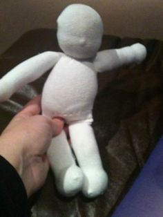 doll out of athletic socks