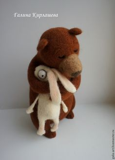 Animal toys, handmade. Fair Masters - handmade. Buy My sweet friend .... Handmade. Brown, Bunny, Bear