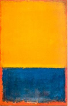 Mark Rothko, Yellow, Blue and Orange, 1955
