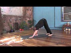 Yoga flow drill for Jiu Jitsu.