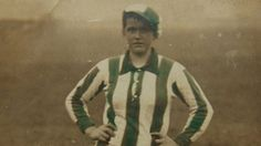 """UK, WWI: """"Thousands of women munition workers played football but one team in the North-East stood head and shoulders above the others. The Blyth Spartans Ladies FC had been taught to play by Navy lads on the beach. In two years they were never beaten. Their centre forward Bella Reay scored 133 goals in one season. In 1918, a competition called the Munitionettes Cup  attracted 30 teams, with the final match played in front of a crowd of 22,000."""""""