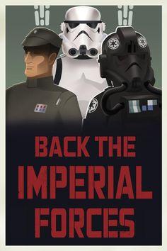 New propaganda posters for Star Wars Rebels