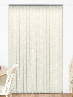 Serena Ecru Vertical Blind from Blinds 2go