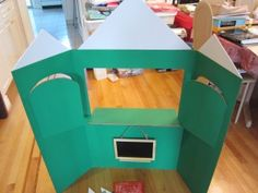 display board puppet theatre