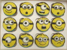 minnions cupcakes