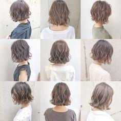 Haircuts For Medium Hair, Medium Hair Styles, Curly Hair Styles, Messy Short Hair, Gorgeous Hair Color, Hair Arrange, Hair Tattoos, Haircut And Color, Hair Inspo