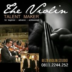 A violin lesson in bandung indonesia