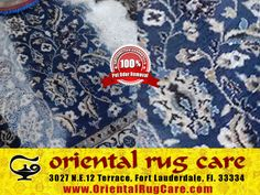 Process for Oriental Rug Cleaning in Homestead