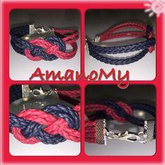 #bracciale#bracelet#bijoux#cordinointrecciato#jewels#nodo#mare#summer#rosso#nero#gioielli#handmade#