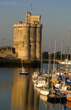 Tour Saint Nicolas, SITUÉ sur la commune de La Rochelle, Charente Maritime, Poitou-Charente, France.