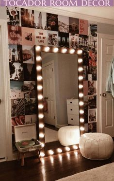 dream rooms for teens ; dream rooms for adults ; dream rooms for women ; dream rooms for couples ; dream rooms for adults bedrooms Cute Room Decor, Girl Decor, Teenage Room Decor Diy, Room Decor With Lights, Room Wall Decor, Room Decor With Pictures, Bedroom Wall Pictures, Diy Teen Room Decor, Cool Lights For Bedroom