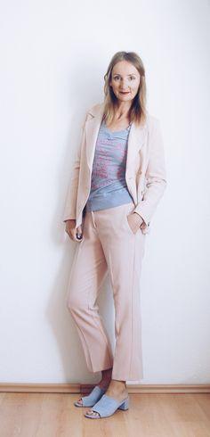 Hosenanzug lässig stylen: 7 Ideen für 7 Tage -- Oceanblue Style at Manderley #fashionblog #over40