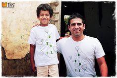 uma camiseta = um sorriso