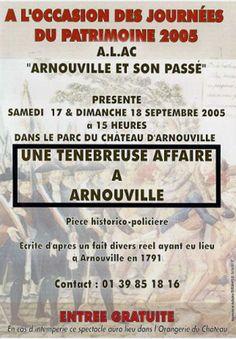 Les Journées du Patrimoine sur Arnouville