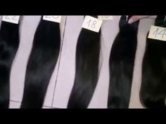Hair Extensions Vietnam with Double Drawn Weaving Hair//Hair Extensions ...