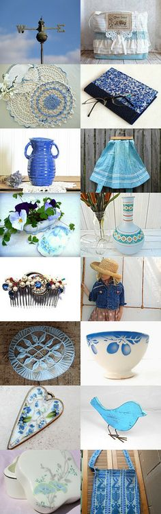 Blue Skies by Diane Waters on Etsy--Pinned with TreasuryPin.com