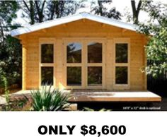 Tiny Houses, Cabins, Cottages, She Sheds, Man Caves, FREE Shipping,