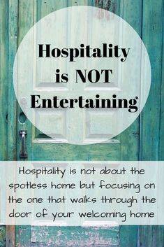 Hospitality is not Entertaining. Hospitality is not about the spotless home but focusing on the one that walks through the door of your welcoming home Hospitality Quotes, Southern Hospitality, Hospitality Gifts, Southern Charm, Southern Belle, Turquoise Table, Christian Homemaking, Etiquette And Manners, Girl Quotes
