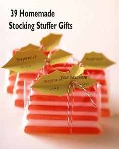 39 Stocking Stuffer Gift Ideas from Martha Stewart - #christmas #gifts