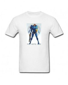 White Cool pharah overwatch T-shirt For Man Hippies 5e21c6784b1