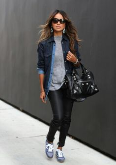 Loving this casual look