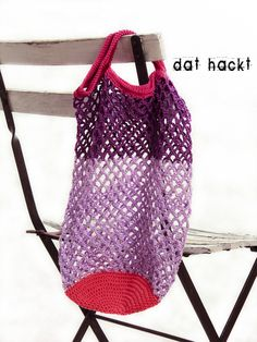 Einkaufsnetz *Retro* von dat hackt auf DaWanda.com