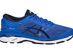 The 20 year success of the industryleading GELKayano 24 is sweet testimony to the continuous innovation and thoughtful design of the shoe. Our GELKayano 24 offers over pronators stability and comfort to improve running efficiency and decrease risk of injury over varying distances. Our reliable p Top Running Shoes, Asics Running Shoes, Blue Shoes, New Shoes, Asics Men, Everyday Shoes, Victoria, Liner Socks, Things That Bounce