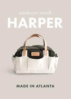 The Harper Tool Bag by Andover Trask | Made in Atlanta