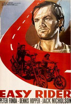 Easy Rider, 1969 / Starring Dennis Hopper, Jack Nicholson, Peter Fonda  http://mudwerks.tumblr.com/
