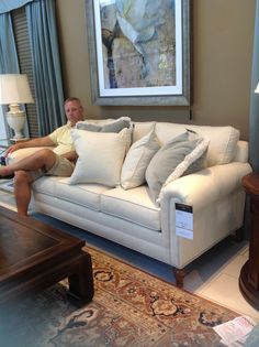 Hastings sofa, very comfy, Ethan Allen