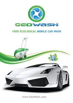 GeoWash Lamborghini poster