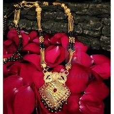 1 Gram Mangalsutra Gold Finish 1 Gram Gold Jewellery, Temple Jewellery, Gold Jewelry, Jewelry Sites, Necklace Set, Bangles, Pendants, Earrings, Collection