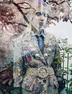Cheyenne Wilson in Vogue Italia September 2016 by Solve Sundsbo