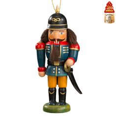 Outstanding German Quality, truly unique wooden pieces by Kaethe Wohlfahrt - Christmas World Policeman, nutcracker
