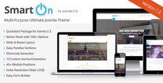 SmartOn Joomla Ultimate Multipurpose Corporate Template - www.templates4all.com