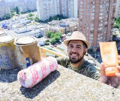 Greek street artist Fikos created the biggest Byzantine painting in the world | Sky Art Foundation