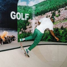 pinterest // @reflxctor GOLF STORE OPENING in LOS ANGELES tyler, the creator, odd future team and FRANK OCEAN ( GOLF WANG / GOLF LE FLEUR ) #golfwang #tylerthecreator #frankocean